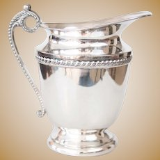 Traditional Silver Plate Water Pitcher