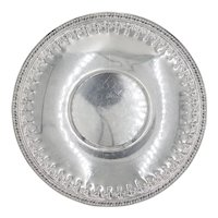 Vintage Reed & Barton Silver Plate Round Tray
