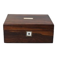 Antique 19th-Century English Rosewood Box