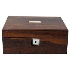 Antique 19th-Century English Rosewood Box