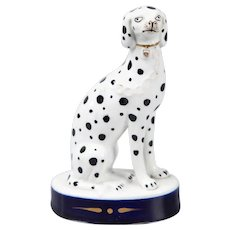 19th-Century English Staffordshire Dalmatian Dog Figurine