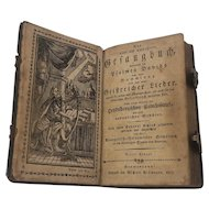 1807 German-American Hymnal or Songbook [Gesangbuch] with David's Psalms