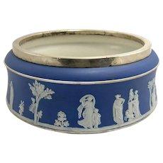 Early Wedgwood Blue Jasperware Bowl