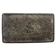 Early 19th-century Pewter Snuff Box