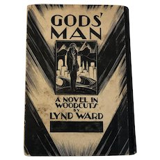 "1929 First Edition of ""Gods' Man"" by Lynd Ward"