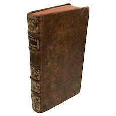 Antiquarian French Religious Book: Conferences Ecclésiastiques (1735)