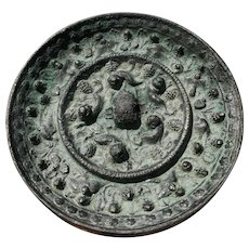10-13 c Chinese Bronze Mirror Song Dynasty