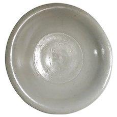14-17th Ming Porcelain Dehua Kiln Plate 明代德化窑盘