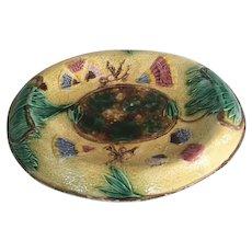 French Majolica Platter