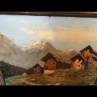 Austrian Village by Hans Bren