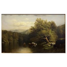 Hudson River Landscape by Henry W. Whiting