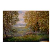 Old Lyme Landscape by Winfield Scott Clime