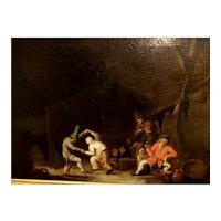 Dancing in the Tavern by van Ostade
