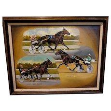 Trotter race by Phil R Berkeley