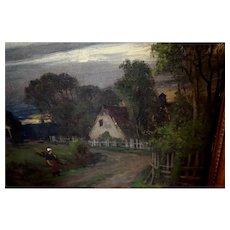 Landscape by Harvey Otis Young