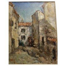 Street Scene by Georges Navez