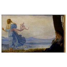 Genre painting by Robert Anning Bell