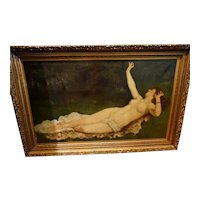 French Classical Nude Unsigned
