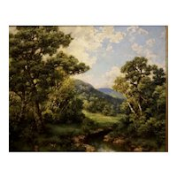 Wooded Landscape by Robert M Decker