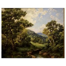 Wooded Landscape by Robert M Decker
