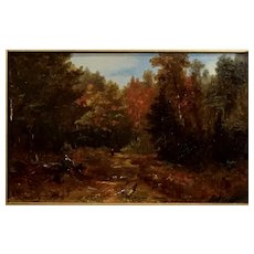 New Hampshire Autumn Landscape by Benjamin Champney