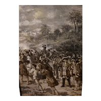 Revolutionary War Scene by F. Luis Mora