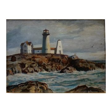 Lighthouse by G. H. Thompson
