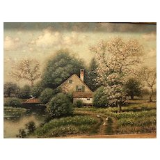 Country Landscape by George Drew