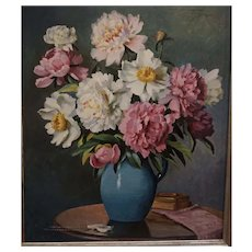 Floral Still Life by Mae Bennett Brown