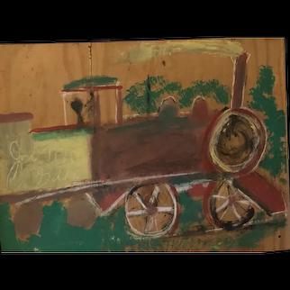 Train by Jimmy Lee Sudduth