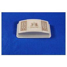 Ladies Hamilton Ivory Colored Bakalite Watch Box