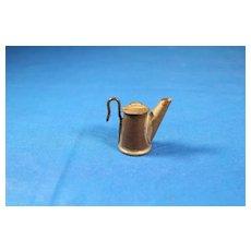 Tin Coal Miners Teapot Lantern Marked (Grier Bros Dubois PA)