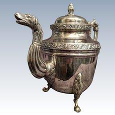 Garrett Eoff American coin silver teapot