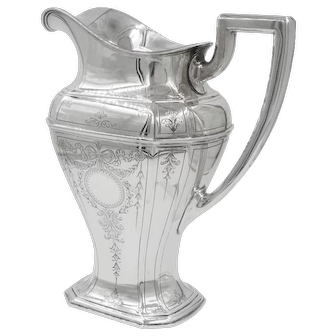 Reed & Barton Water Pitcher