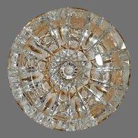 American brilliant cut crystal Ashtray
