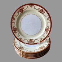 Rare Noritake China Rainbow pattern dinner plate