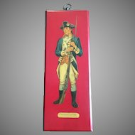 Washington Bodyguard Soldier Wall Plague