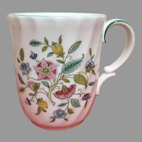 Minton Haddon Hall swirl tea cup, coffee mug