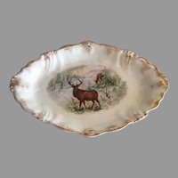 La Belle Wheeling Pottery Large Serving Platter Tray