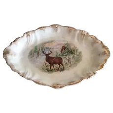 La Belle Wheeling Pottery Large Serving Platter Tray
