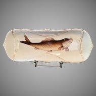 Large Fish Design Serving Dish Platter