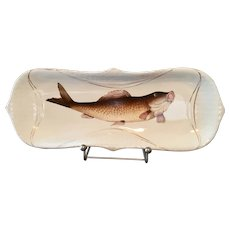 Large Fish Design Serving Dish Platter