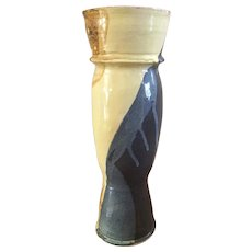 Tall Glazed Ceramic Vase