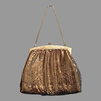Whiting And Davis Mesh Metal Evening Purse