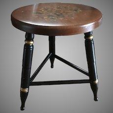 Vintage Hitchcock seating stool