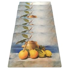 "Pimpernel England Cork placemats, set of 6, 15 3/4""x11 3/4"""