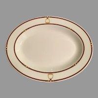 Ralph Lauren Home Bromley equestrian oval platter
