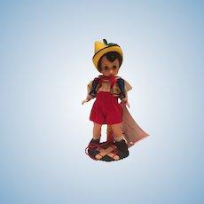"Madame Alexander 1992 8"" Pinocchio"