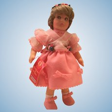 Vintage Lenci Felt Doll 1983  Loretta