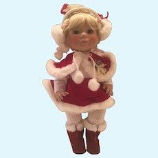 "Lee Middleton 1992 14"" Christmas Angel"